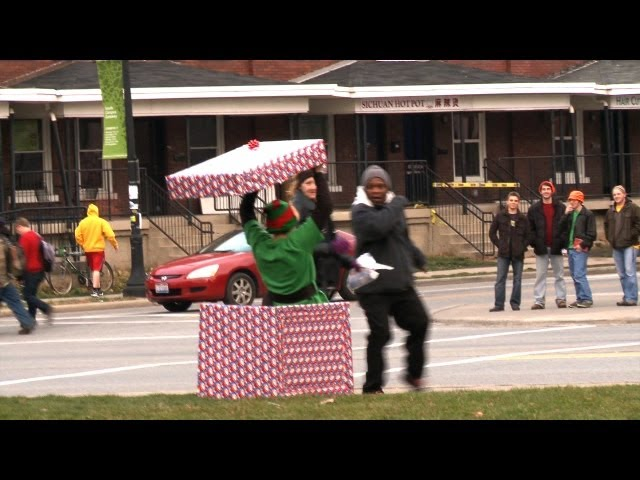 Christmas Elf Prank - Scares and Cares