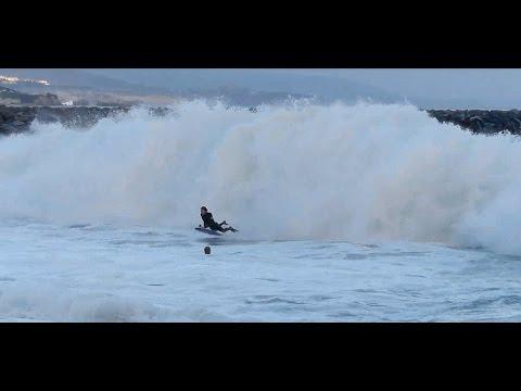 Newport Beach, CA, Wedge Surf, PM 7/8/2014 - (1080p@60) Part 4