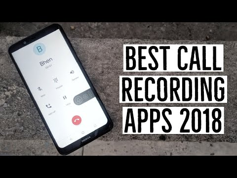 Best Call Recording Apps 2018!