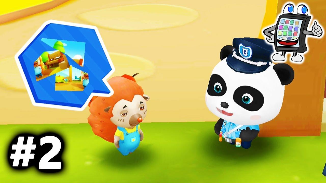 KIND VERLIERT VATER! Little Panda Police Man #2 Baby Bus ...