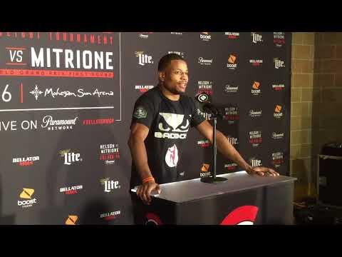 Tywan Clayton - Bellator 194 post fight press conference