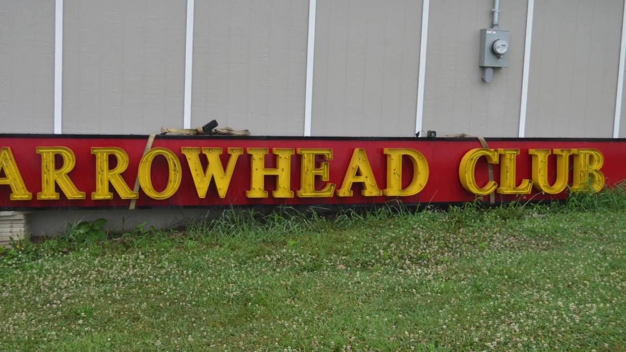 Kansas City Chiefs Arrowhead Club Neon Sign Name Your Price Youtube
