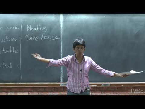 Mathematical Modelling in Population Biology 1 by Kavita Jain (JNCASR, Bengaluru)