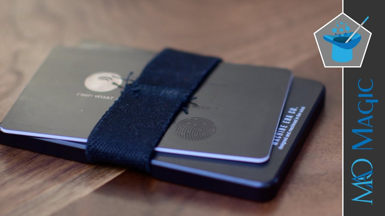 orbit card is a bluetooth tracker as thin as a pair of credit cards