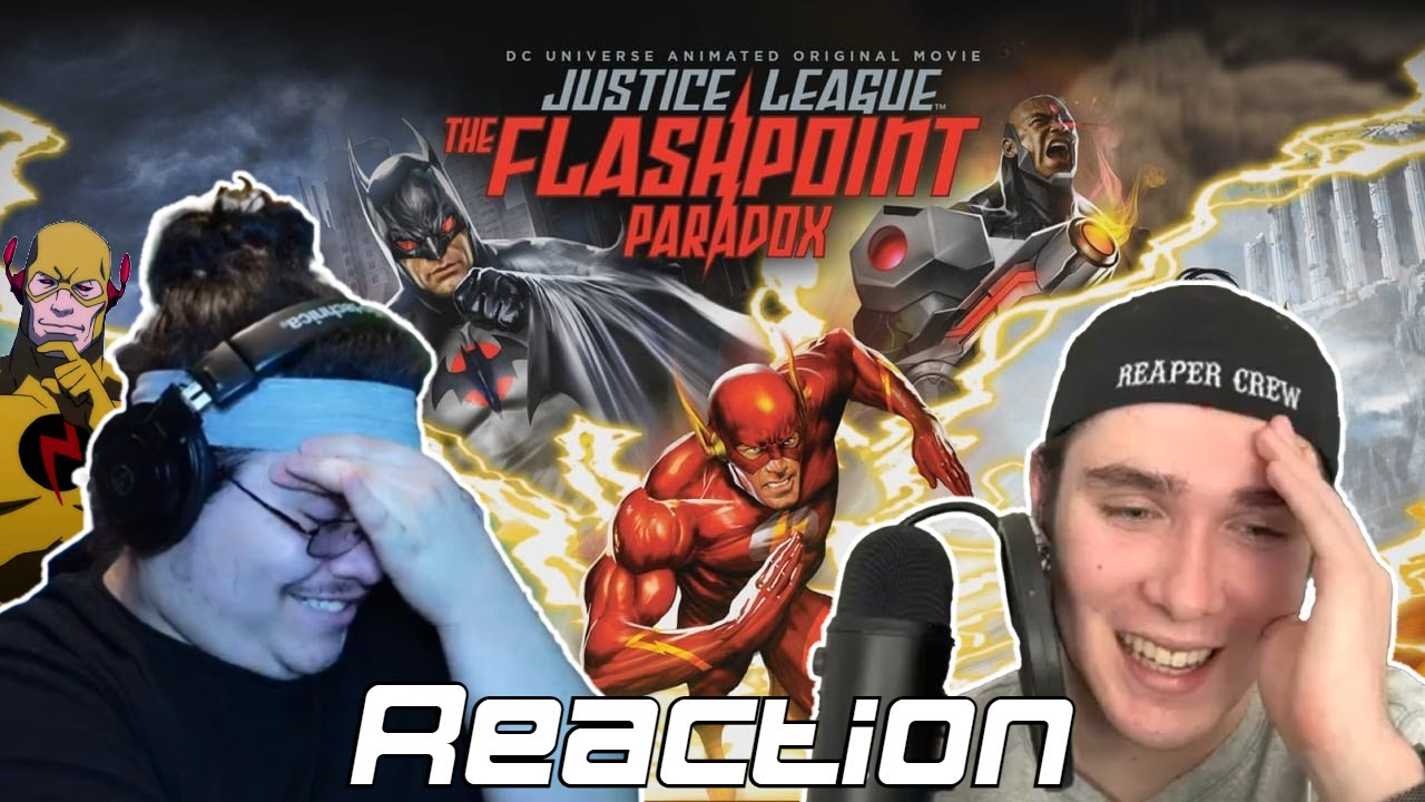 Download JUSTICE LEAGUE FLASH POINT PARADOX REACTION WITH WHITE NOISE REACTS