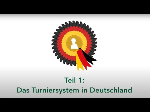 Das Turniersystem in Deutschland