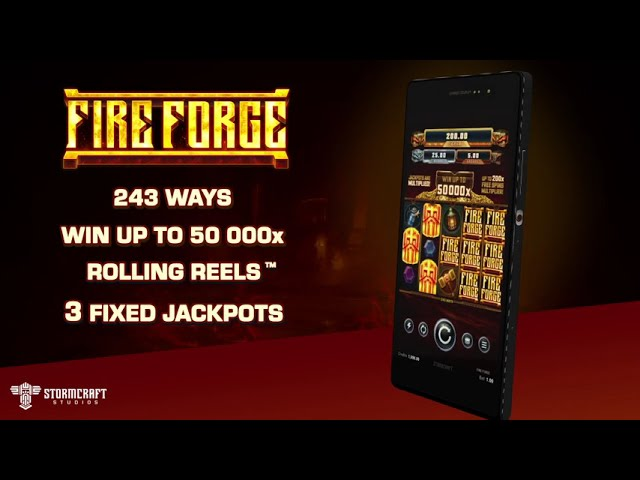 Fire Forge  Slot Play Free ▷ RTP 96% & High Volatility video preview