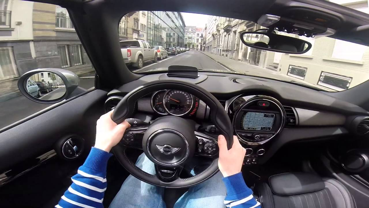 Mini Cooper D Cabrio 2016 Pov Test Drive Gopro Youtube