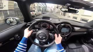 MINI Cooper D Cabrio 2016 POV test drive GoPro