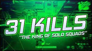 31 Kills Solo vs Squads | KING OF SOLO SQUAD | Fortnite Season 7