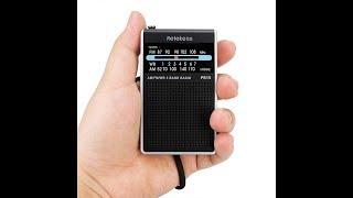 Retekess PR15 pocket-size AM/FM/WB radio review & test