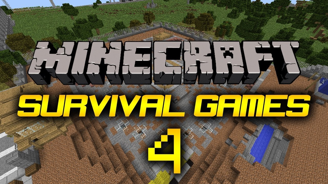 Minecraft PE Survival Games Map Review HD YouTube - Minecraft survival spiele