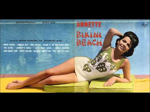 Annette Funicello - Annette At Bikini Beach [Full Album] 1964
