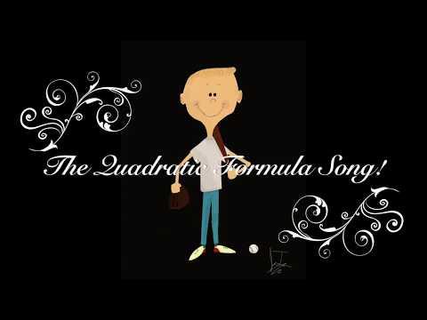 THE QUADRATIC FORMULA SONG (1950's Style FULL BAND) - With LYRICS
