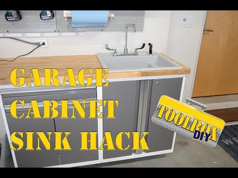 Convert a Metal Cabinet to a Sink Base | Long Version