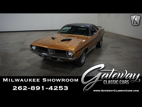 1972 Plymouth Barracuda-Gateway Classic Cars-Milwaukee #651