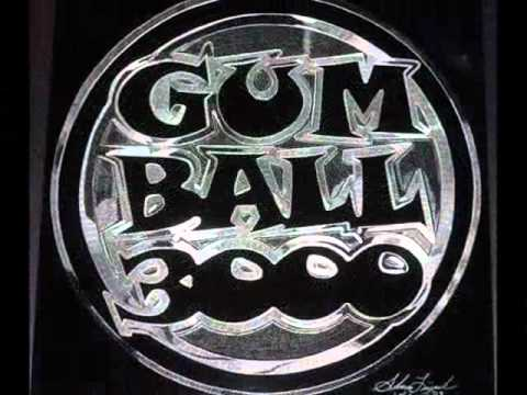 Maximillion Cooper's GUMBALL 3000 Logo (hand engraved) by artist: Shawn Lisjack (Exotic Engravings)