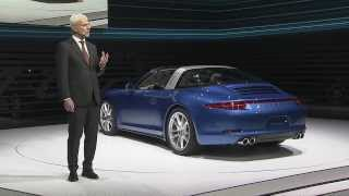By Design. The New 911 Targa.