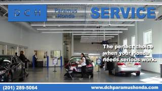 At Dch Paramus Honda We Mean It When Say Service Hondas
