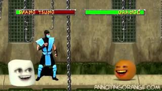 Annoying Orange] Апельсин и Mortal Combat (Rus by Rissy)
