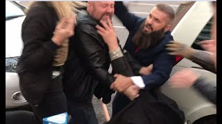 Fight breaks out at Salt Lake City Kavanaugh protest