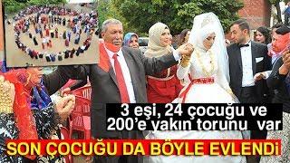 Şanlıurfa'da Aşiret Düğünü: 24'üncü Çocuğunu Evlendirdi