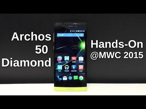 Archos 50 Diamond: Hands On mit dem neon-gelben Achtkerner