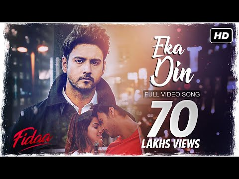 Eka Din (একা দিন) | Fidaa | Video Song | Yash | Sanjana | Minar | Arindom | SVF