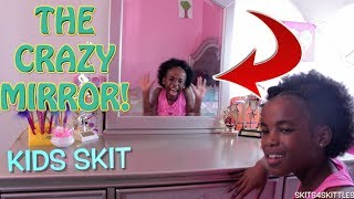 THE CRAZY MIRROR! ( COOL KIDS SKIT!)