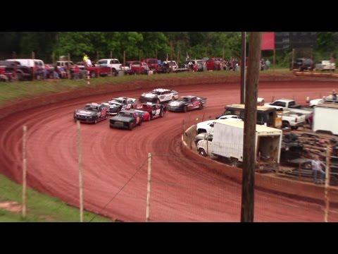 Winder Barrow Speedway Modified Street Race 4/29/17