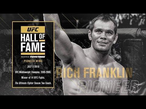 Рич Франклин стал членом зала славы UFC