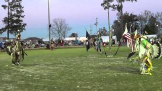 Poarch Creek pow wow 2013 - Northern traditional song 1