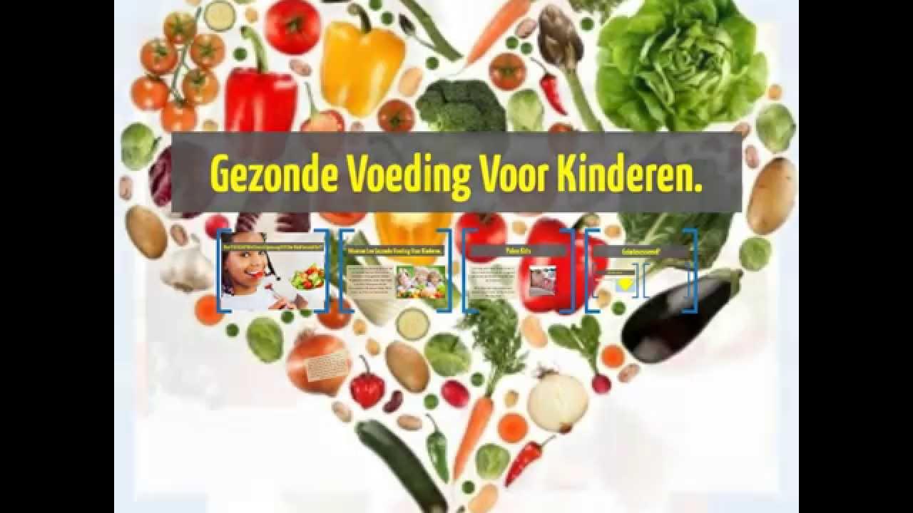 voeding bij kinderen