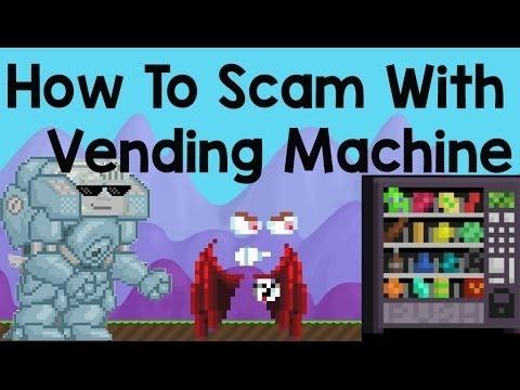 scam vending machine