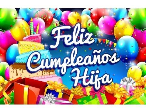Feliz Cumpleaños Hija – Frases para un Cumpleaños | Etiquetate.net ...