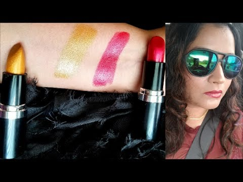 Essence Metal Shock Lipsticks | Review and Swatches