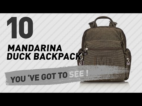 Mandarina Duck Backpack Great Collection, Just For You! // UK Best Sellers 2017