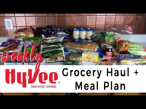 Weekly Grocery Haul and Meal Plan | Hy-Vee Aisle Online Delivery