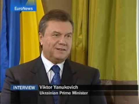 Euro News   EN   Interview  Viktor Yanukovich
