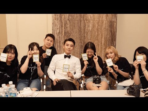 SEUNGRI - 'THE GREAT STAFF' BEHIND THE SCENES