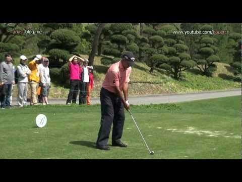 [1080p HD] Jeev Milkha Singh 2012 Iron Golf Swing (1)_European Tour