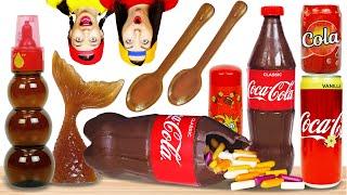 Сладости из Колы Челлендж    Едим Конфеты Только из Кока Кола Весь День! Челлендж от Пико Поки