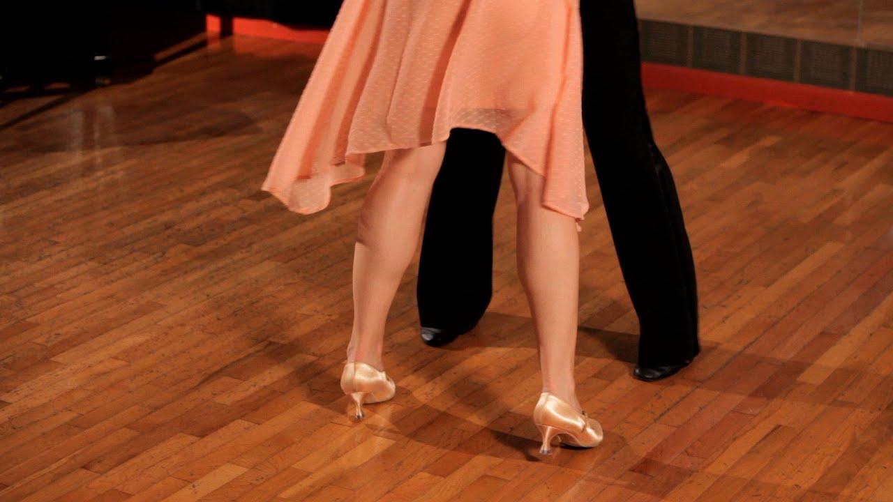 How To Do Basic Foxtrot Steps Ballroom Dance Youtube