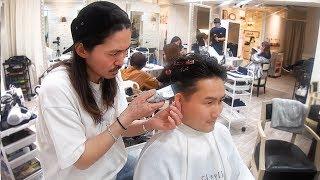 Парикмахерская в Японии. Какие мужские стрижки популярны?
