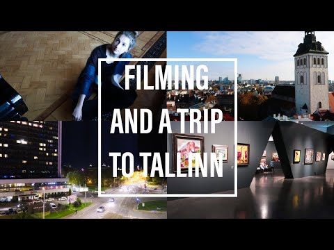 FILMING AND A TRIP TO TALLINN #vlog