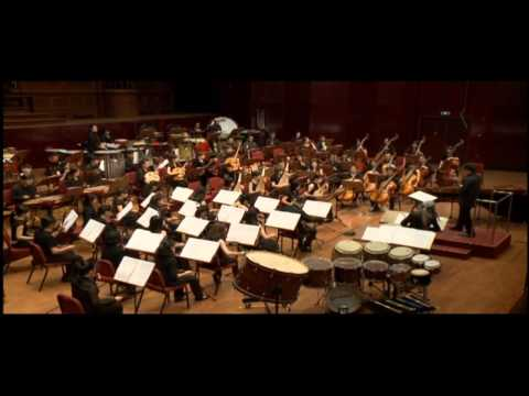 Evelyn Glennie and TCO play Chung Concerto (September 2013)