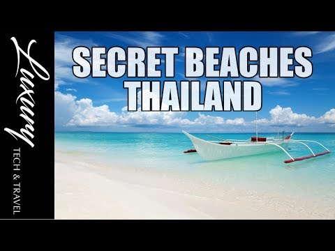 The Best SECRET BEACHES of Thailand. The beaches that tourists are not told about.