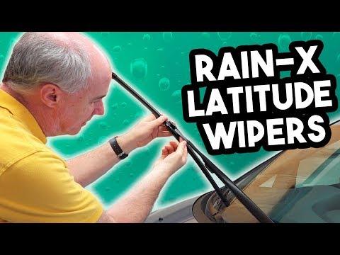 Rain-X Latitude Wiper Blades Review in 4k | EpicReviewGuys CC