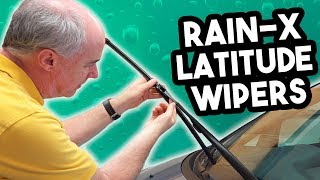 Rain-X Latitude Wiper Blades Review in 4k | EpicReviewGuys CC