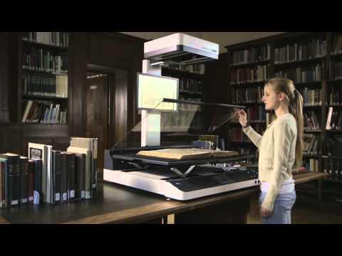 Bookleye® 4 V1A Book Scanner in A1+ Format